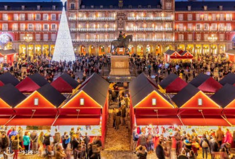 【一分钱攻略】西班牙各地圣诞集市攻略!圣诞假期不出远门,去家门口走走吧🎄